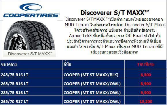 Cooper Tires ราคายาง4X4ถูก รูปที่ 4